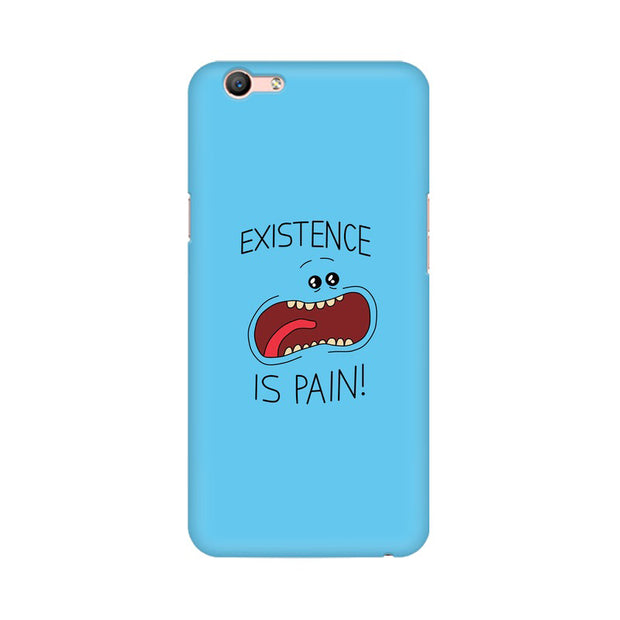 Oppo A59 Existence Is Pain Mr Meeseeks Rick & Morty Phone Cover & Case