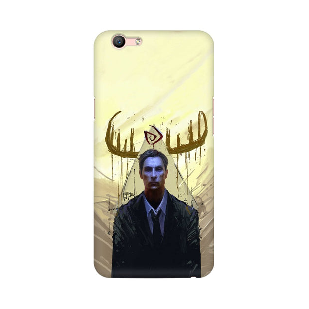 Oppo A59 True Detective Rustin Fan Art Phone Cover & Case