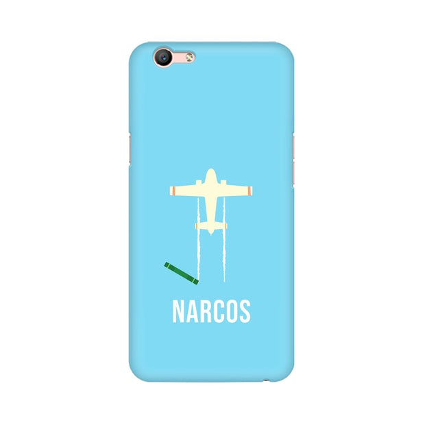 Oppo A59 Narcos TV Series  Minimal Fan Art Phone Cover & Case