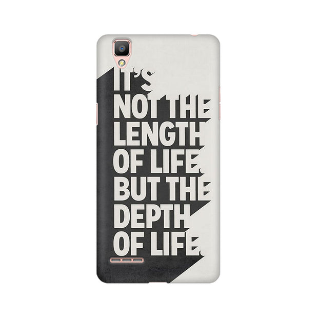 Oppo F1 Depth Of Life Phone Cover & Case