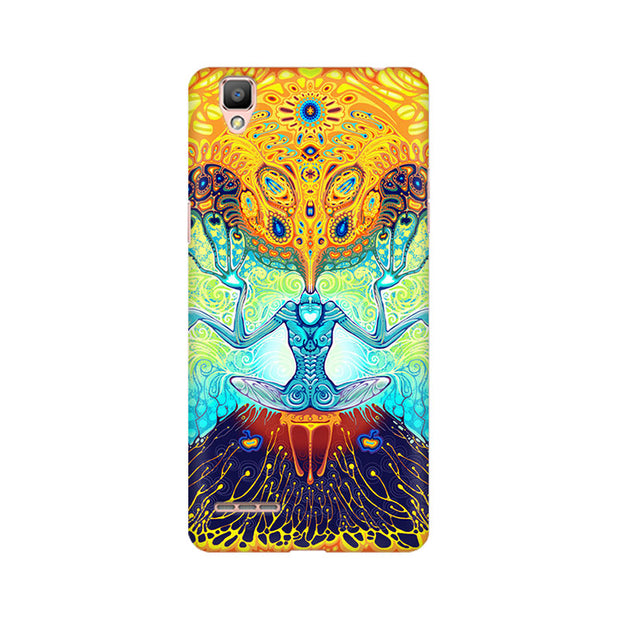 Oppo F1 Ego Painting Phone Cover & Case