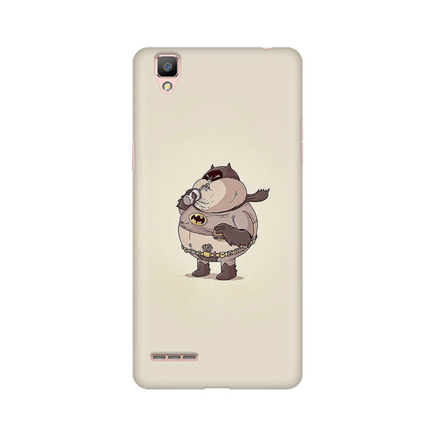 Oppo F1 Fat Batman Phone Cover & Case
