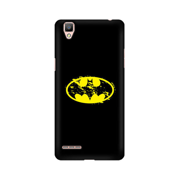 Oppo F1 Flourished Yellow Batman Phone Cover & Case