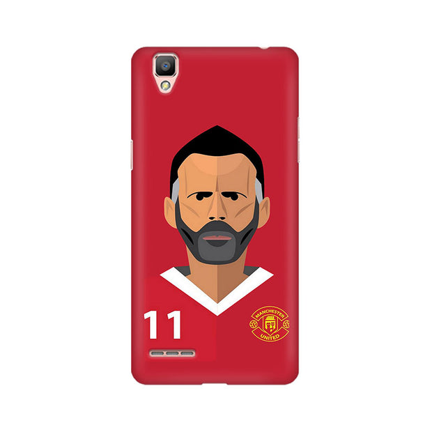 Oppo F1 Manchester Phone Cover & Case