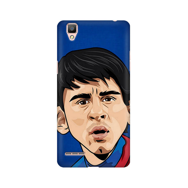 Oppo F1 Messi Cartoon Phone Cover & Case