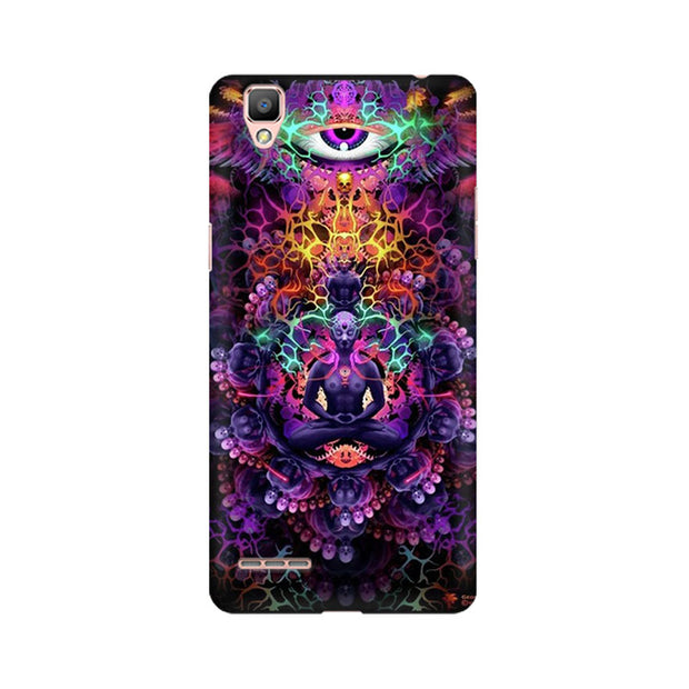 Oppo F1 Psychedelic Buddha Phone Cover & Case