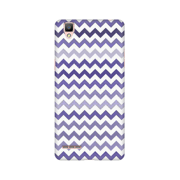 Oppo F1 Purple Chevron Shades Phone Cover & Case