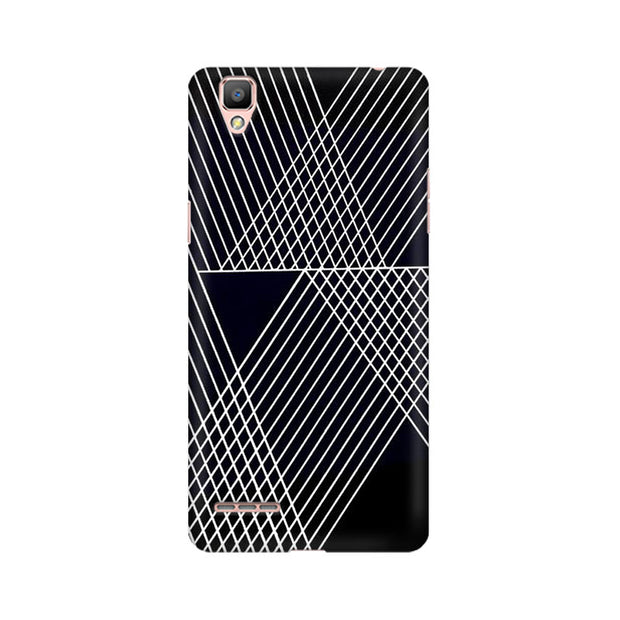 Oppo F1 Reflecting Lines Phone Cover & Case