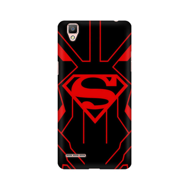 Oppo F1 Superman Red Phone Cover & Case