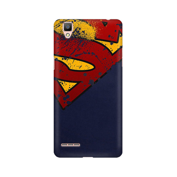 Oppo F1 Superman Phone Cover & Case