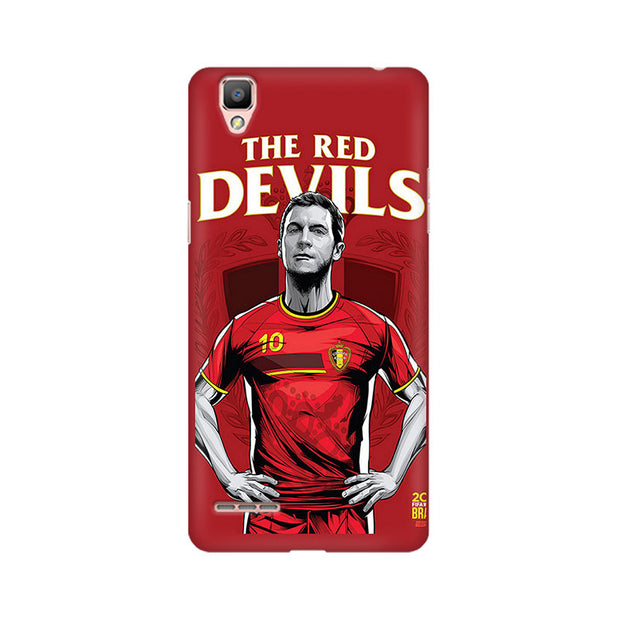 Oppo F1 The Red Devils Phone Cover & Case