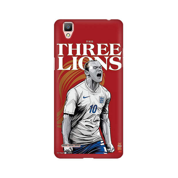 Oppo F1 The Three Lions Phone Cover & Case