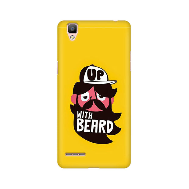 Oppo F1 Up With Beard Phone Cover & Case