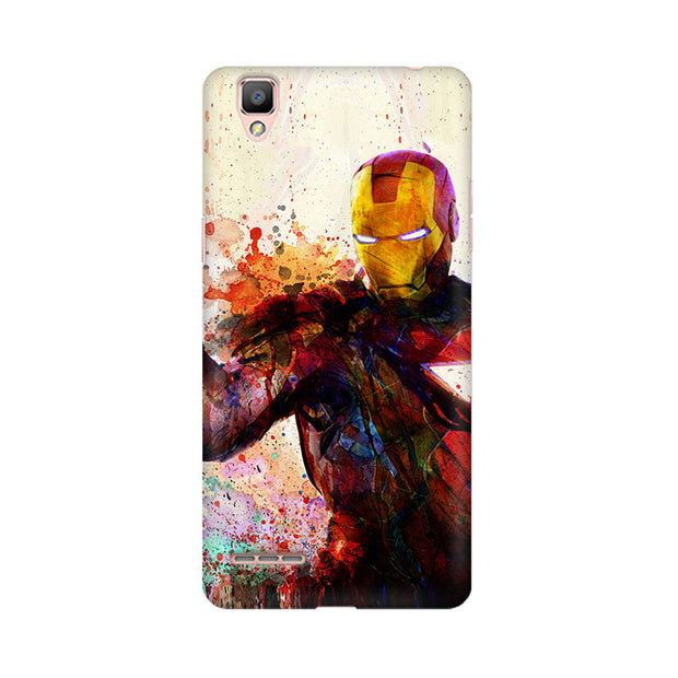 Oppo F1 Plus Iron Man Phone Cover & Case