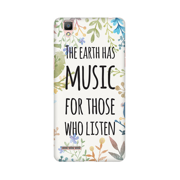 Oppo F1 Plus Music Of Earth Phone Cover & Case