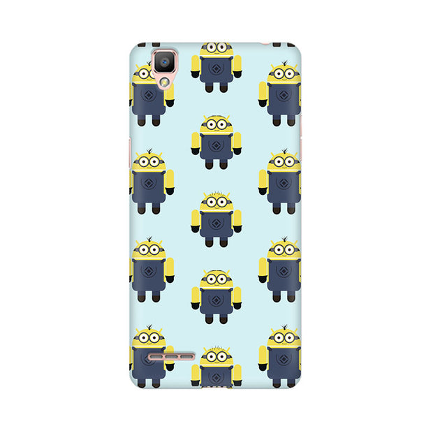 Oppo F1 Plus Minion Love Phone Cover & Case