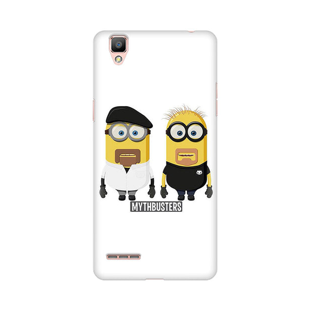 Oppo F1 Plus Minion Mythbusters Phone Cover & Case