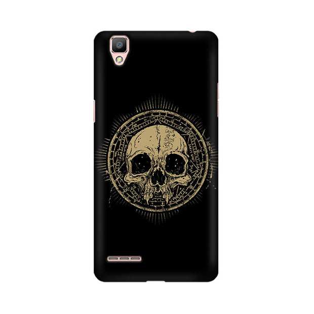 Oppo F1 Plus Ancient Skull Phone Cover & Case
