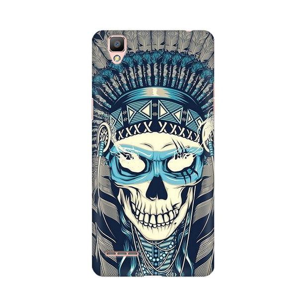Oppo F1 Plus Indian Skull Phone Cover & Case