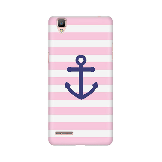 Oppo F1 Plus Pink Anchor Phone Cover & Case