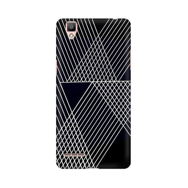 Oppo F1 Plus Reflecting Lines Phone Cover & Case