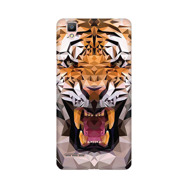Oppo F1 Plus Roaring Tiger Phone Cover & Case