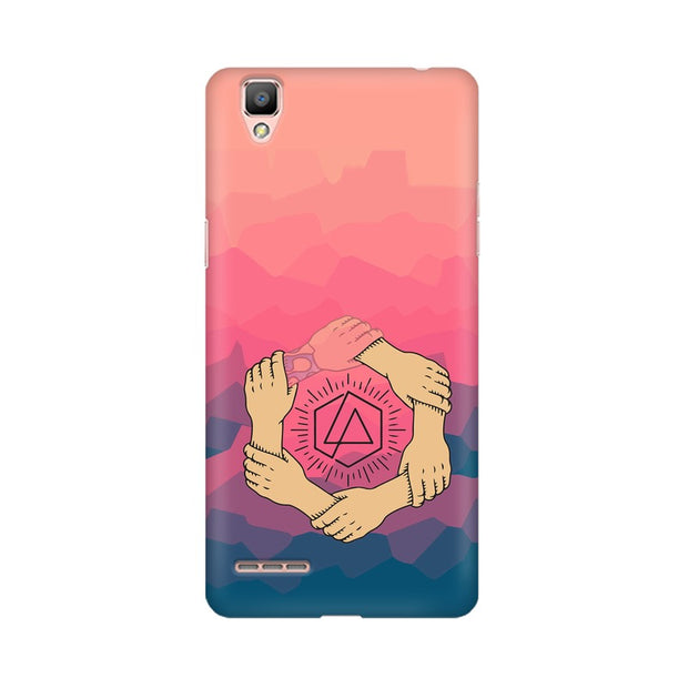 Oppo F1 Plus Linkin Park Logo Chester Tribute Phone Cover & Case