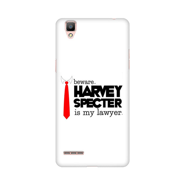 Oppo F1 Plus Harvey Spectre Is My Lawyer Suits Phone Cover & Case