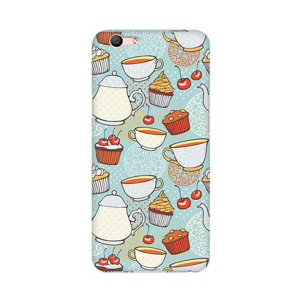 Oppo F1s Cakes And Tea Phone Cover & Case