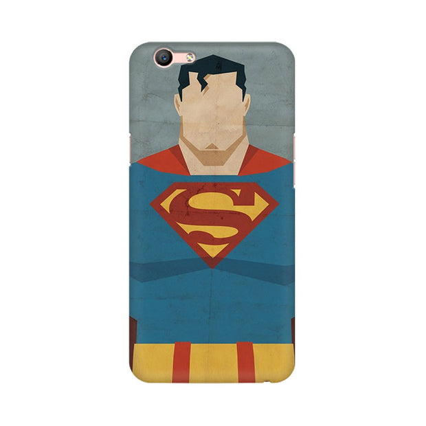 Oppo F1s Superman Minimalist Phone Cover & Case