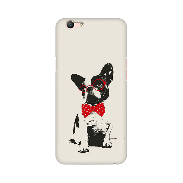 Oppo F1s Bowtie Pup Phone Cover & Case