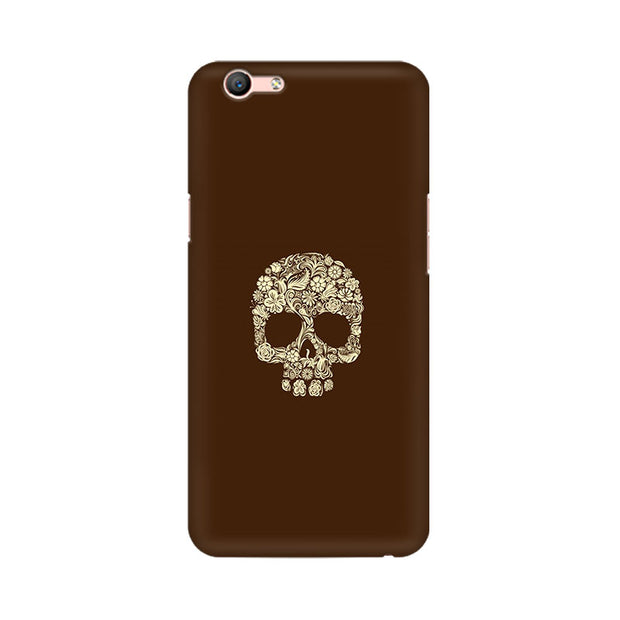 Oppo F1s Floral Skull Phone Cover & Case
