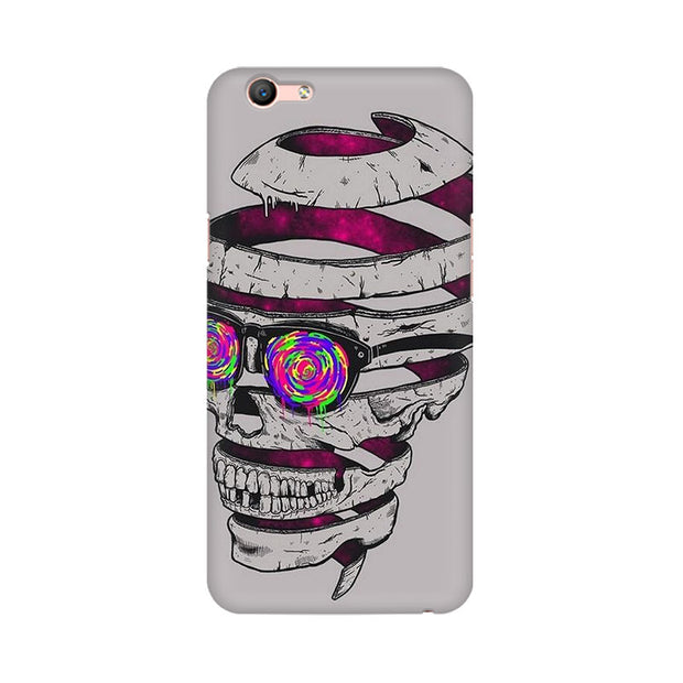 Oppo F1s Skull Maker Phone Cover & Case