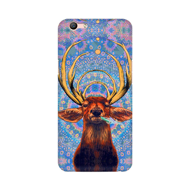 Oppo F1s Smoking Deer Phone Cover & Case