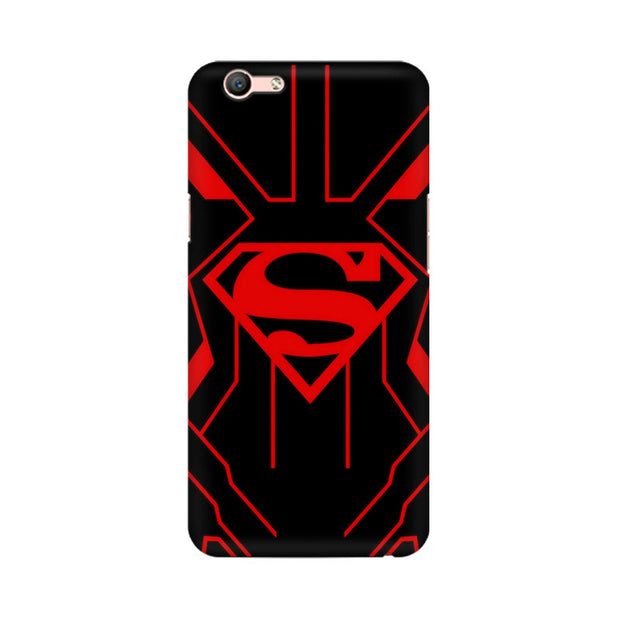 Oppo F1s Superman Red Phone Cover & Case