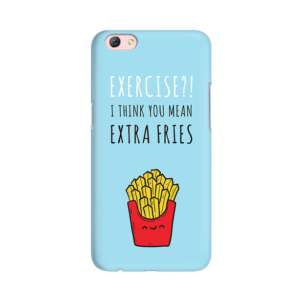 Oppo F3 Plus Extra Fries Phone Cover & Case