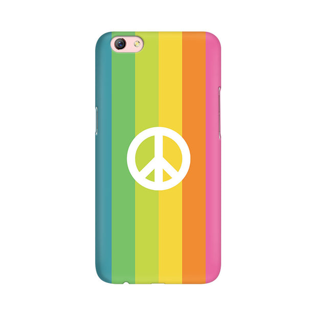 Oppo F3 Plus Colorful Peace Phone Cover & Case