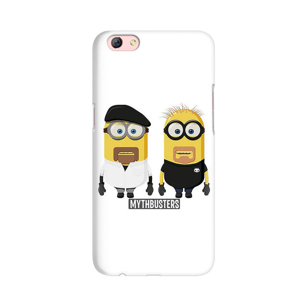 Oppo F3 Plus Minion Mythbusters Phone Cover & Case