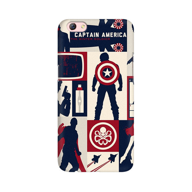 Oppo F3 Plus Captain America Collage Phone Cover & Case