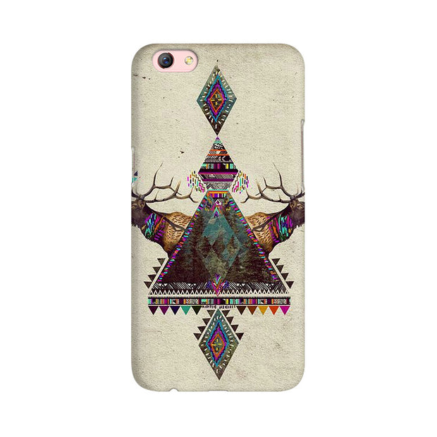 Oppo F3 Plus Deer Symmetry Phone Cover & Case