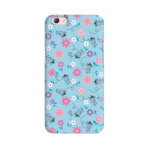 Oppo F3 Plus Floral Girly Wall Phone Cover & Case