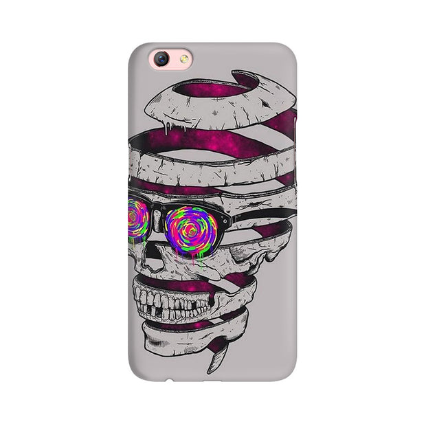 Oppo F3 Plus Skull Maker Phone Cover & Case