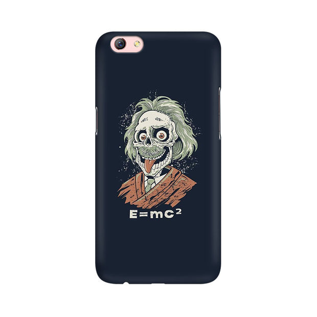 Oppo F3 Plus Skully Einstein Phone Cover & Case