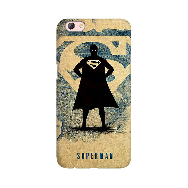 Oppo F3 Plus Superman Standing Phone Cover & Case