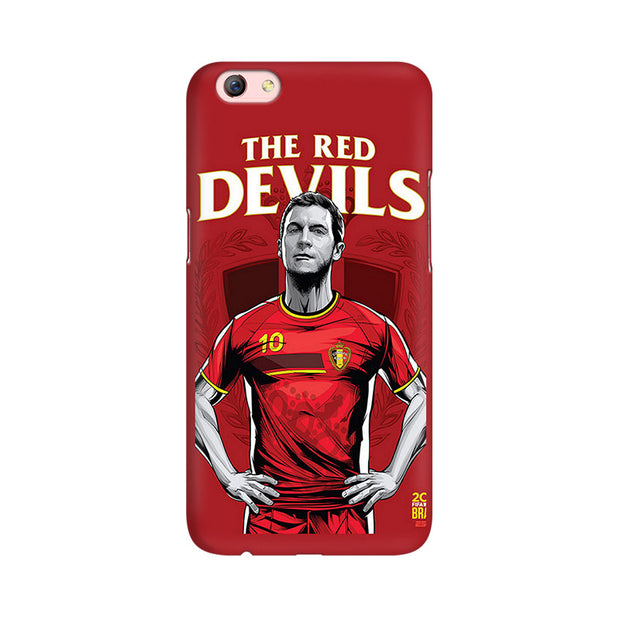Oppo F3 Plus The Red Devils Phone Cover & Case