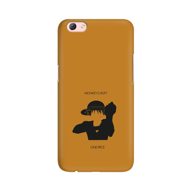 Oppo F3 Plus Monkey D Luffy One Piece Minimal Phone Cover & Case