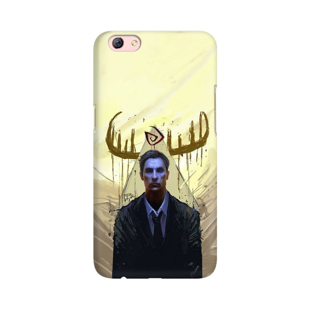 Oppo F3 Plus True Detective Rustin Fan Art Phone Cover & Case