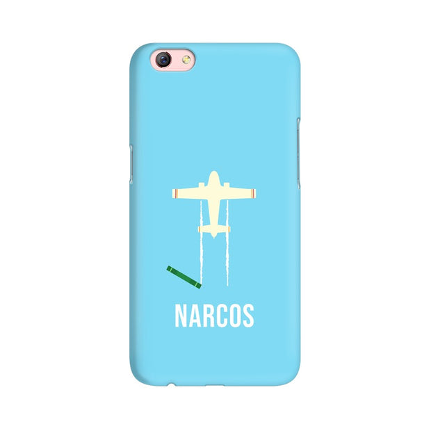 Oppo F3 Plus Narcos TV Series  Minimal Fan Art Phone Cover & Case