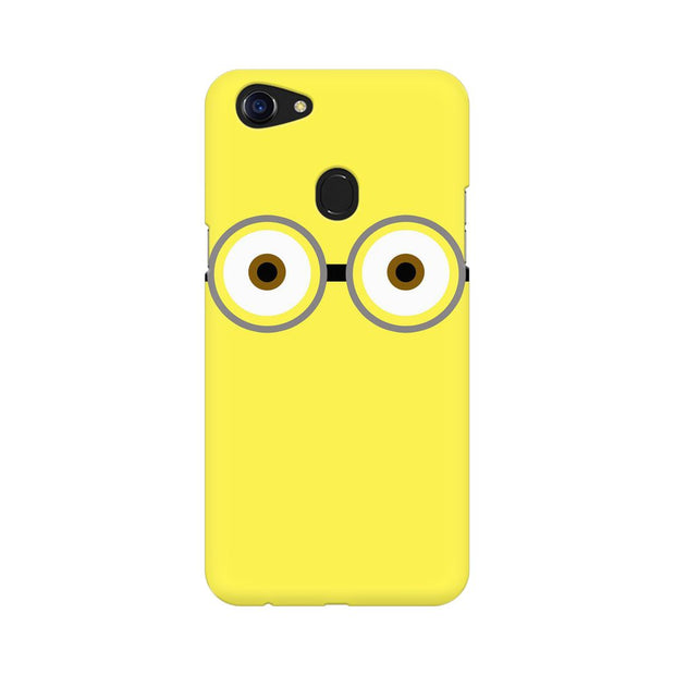 Oppo F5 Minion Big Eyes Phone Cover & Case