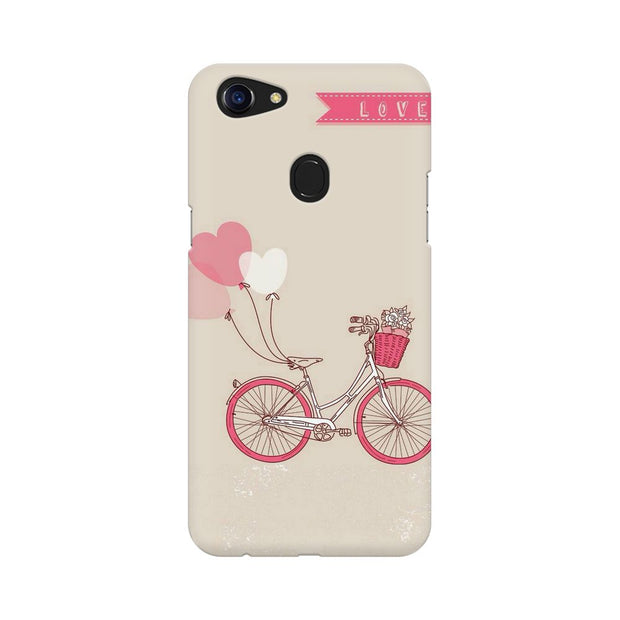 Oppo F5 Bicycle Love Phone Cover & Case